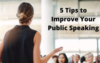 5 Tips From My Public Speaking Courses